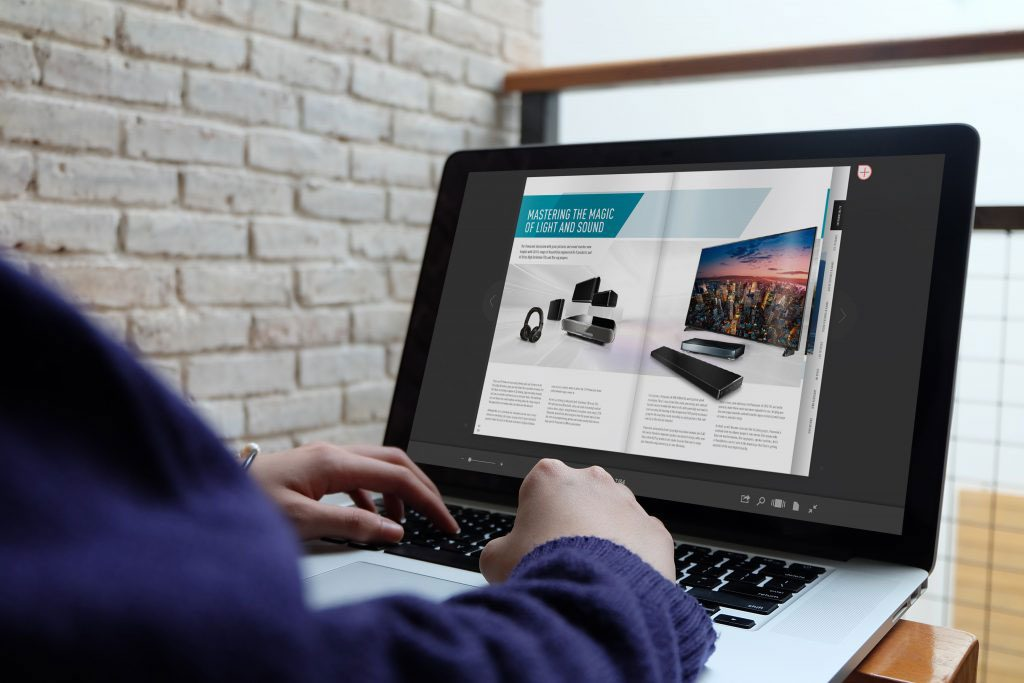 Création catalogue en ligne
